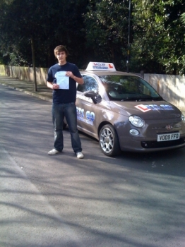 Sam is an excellent driving instructor who takes a professional yet fun approach to his lessons. Today, i passed my test first time with 4 minors on a difficult route. He takes his time in his lessons, never rushes you and being picked up and dropped off at places before and after the lessons was helpful. The prices were cheap especially with the s...
